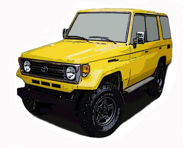 オフロード4WD